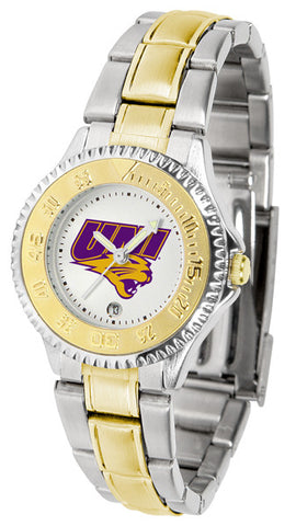 Ladies Northern Iowa Panthers - Competitor Two Tone Watch