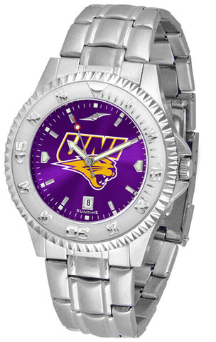 Mens Northern Iowa Panthers - Competitor Steel AnoChrome Watch