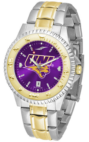 Mens Northern Iowa Panthers - Competitor Two Tone AnoChrome Watch
