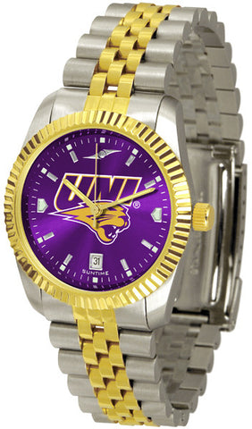 Mens Northern Iowa Panthers - Executive AnoChrome Watch