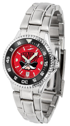 Ladies Las Vegas Rebels - Competitor Steel AnoChrome Watch - Color Bezel