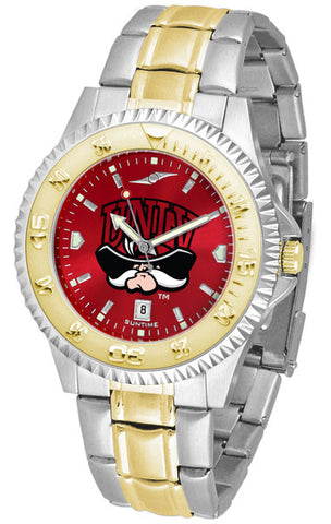 Las Vegas Rebels Mens Or Ladies Competitor Two-Tone Watch With Anochrome Dial