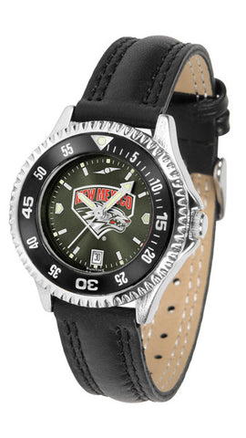 Ladies New Mexico Lobos - Competitor AnoChrome Watch - Color Bezel