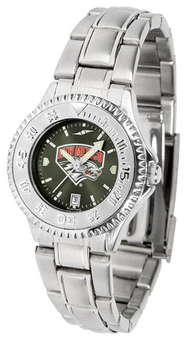 Ladies New Mexico Lobos - Competitor Steel AnoChrome Watch