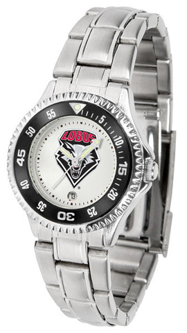 Ladies New Mexico Lobos - Competitor Steel Watch