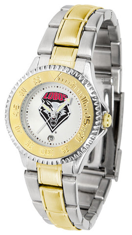 Ladies New Mexico Lobos - Competitor Two Tone Watch