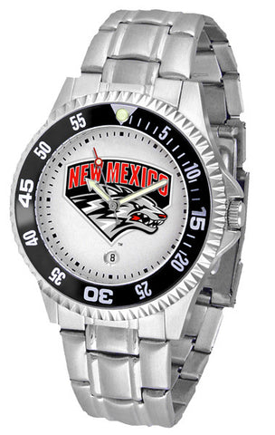 Mens New Mexico Lobos - Competitor Steel Watch