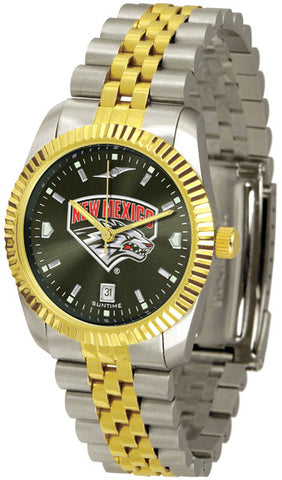 Mens New Mexico Lobos - Executive AnoChrome Watch
