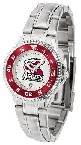 Ladies New Mexico State Aggies - Competitor Steel Watch