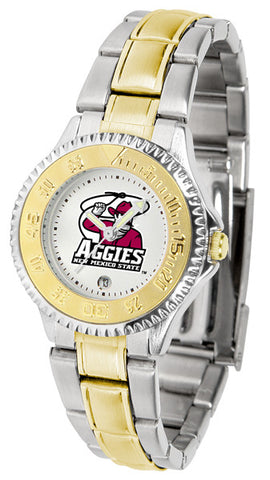 Ladies New Mexico State Aggies - Competitor Two Tone Watch
