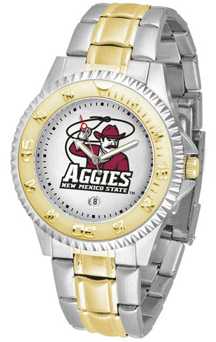 Mens New Mexico State Aggies - Competitor Two Tone Watch