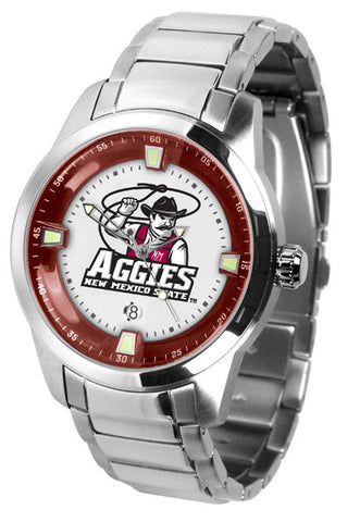 Mens New Mexico State Aggies - Titan Steel Watch