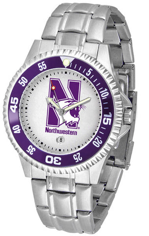 Mens Northwestern Wildcats - Competitor Steel Watch