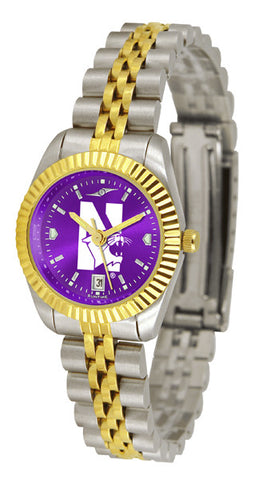 Ladies Northwestern Wildcats - Executive AnoChrome Watch