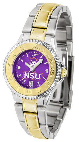 Ladies Northwestern State Demons - Competitor Two Tone AnoChrome Watch
