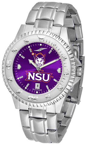 Mens Northwestern State Demons - Competitor Steel AnoChrome Watch