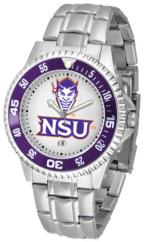 Mens Northwestern State Demons - Competitor Steel Watch