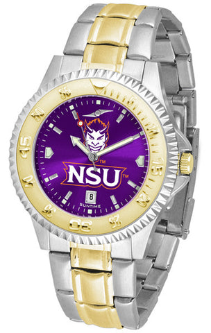Mens Northwestern State Demons - Competitor Two Tone AnoChrome Watch