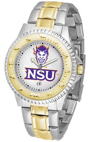 Mens Northwestern State Demons - Competitor Two Tone Watch