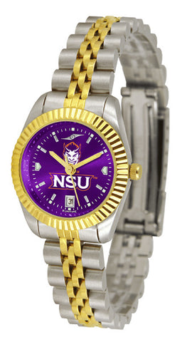 Ladies Northwestern State Demons - Executive AnoChrome Watch
