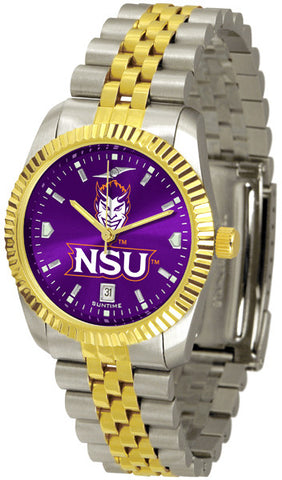 Mens Northwestern State Demons - Executive AnoChrome Watch
