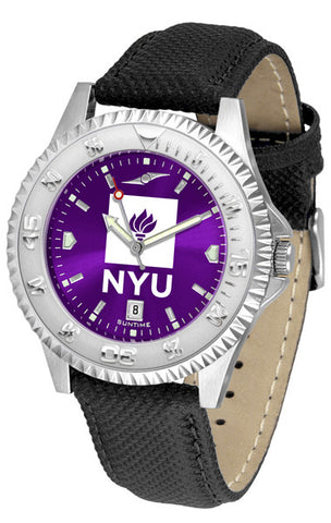 Mens New York University Violets - Competitor AnoChrome Watch