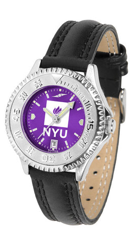 Ladies New York University Violets - Competitor AnoChrome Watch