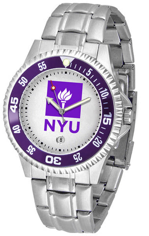 Mens New York University Violets - Competitor Steel Watch