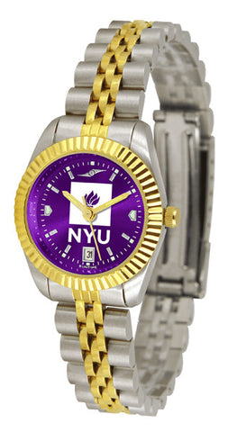 Ladies New York University Violets - Executive AnoChrome Watch