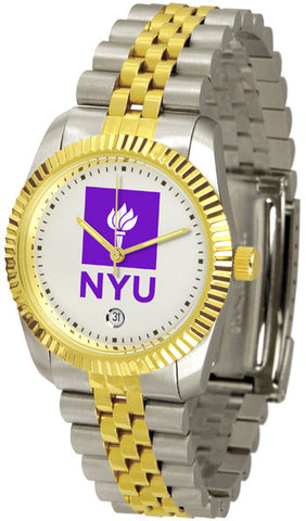 Mens New York University Violets - Executive Watch