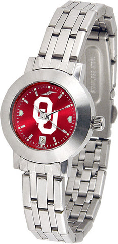 Oklahoma Sooners Ladies Dynasty Watch With AnoChrome Dial