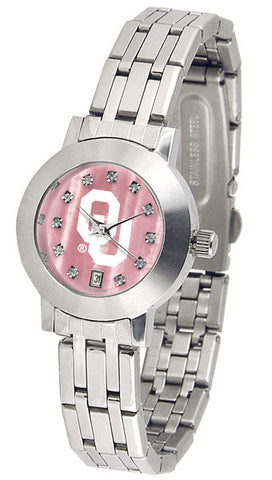 Oklahoma Sooners Ladies Dynasty Watch With Mother Of Pearl Dial