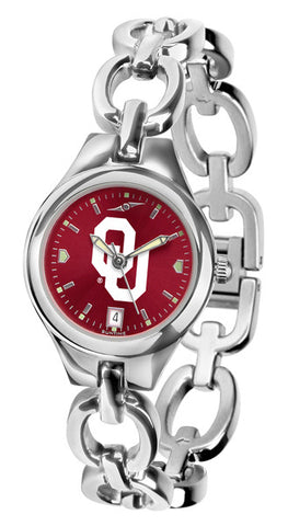 Oklahoma Sooners Ladies Eclipse Watch With AnoChrome Dial