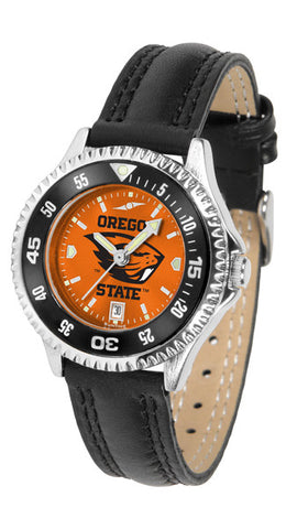 Ladies Oregon State Beavers - Competitor AnoChrome Watch - Color Bezel