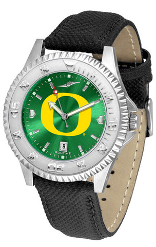 Oregon Ducks Men  Competitor Watch With AnoChome Dial