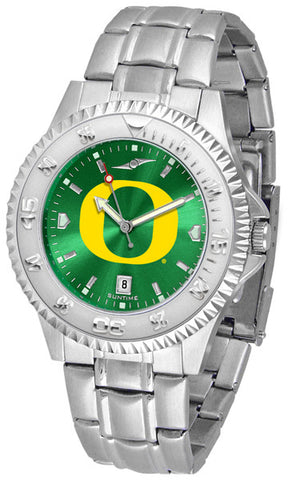 Oregon Ducks Men Competitor Steel Watch With AnoChome Dial