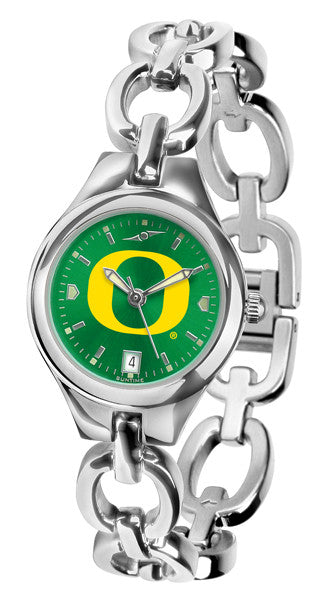 Oregon Ducks Ladies Eclipse Watch With AnoChrome Dial
