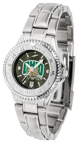 Ladies Ohio University Bobcats - Competitor Steel AnoChrome Watch