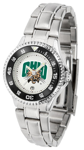 Ladies Ohio University Bobcats - Competitor Steel Watch