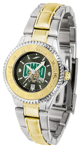Ladies Ohio University Bobcats - Competitor Two Tone AnoChrome Watch