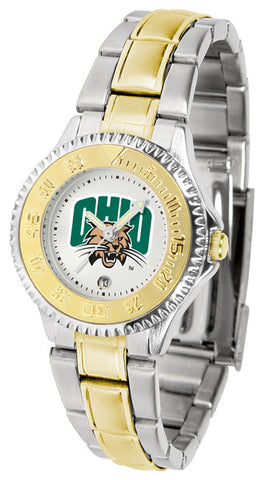 Ladies Ohio University Bobcats - Competitor Two Tone Watch