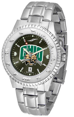 Mens Ohio University Bobcats - Competitor Steel AnoChrome Watch