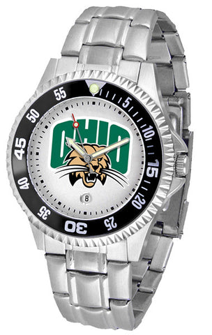Mens Ohio University Bobcats - Competitor Steel Watch