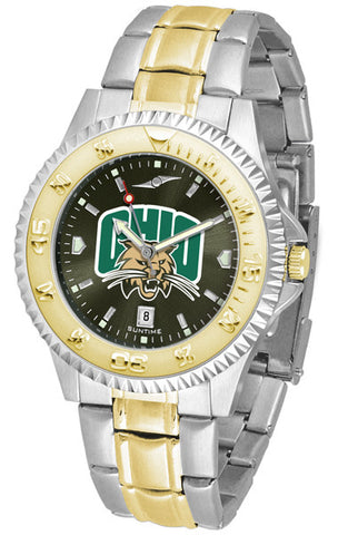 Mens Ohio University Bobcats - Competitor Two Tone AnoChrome Watch