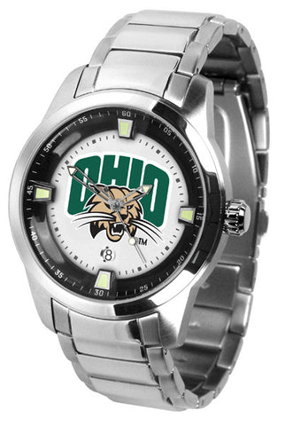 Mens Ohio University Bobcats - Titan Steel Watch