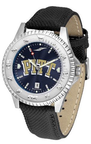 Pittsburgh Panthers Men  Competitor Watch With AnoChome Dial