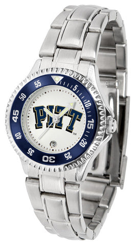 Pittsburgh Panthers Competitor Steel Ladies Watch
