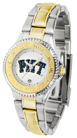 Pittsburgh Panthers  Ladies Competitor Two-Tone Watch