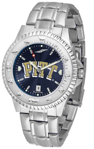 Pittsburgh Panthers Men's Competitor Steel Watch With AnoChome Dial