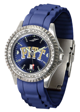 Pittsburgh Panthers Sparkle Watch With Color Band